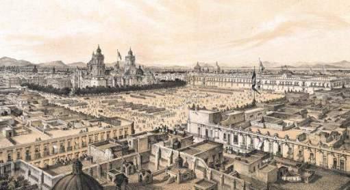 Resultado de imagem para ciudad de mexico colonial