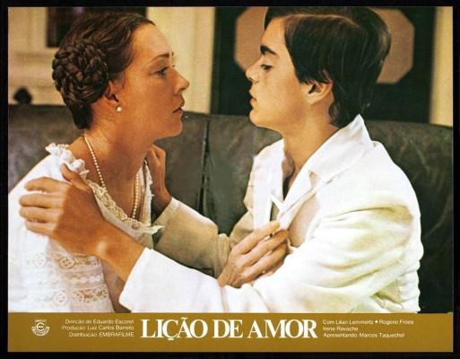 Resultado de imagem para Lição de amor  filme 1975
