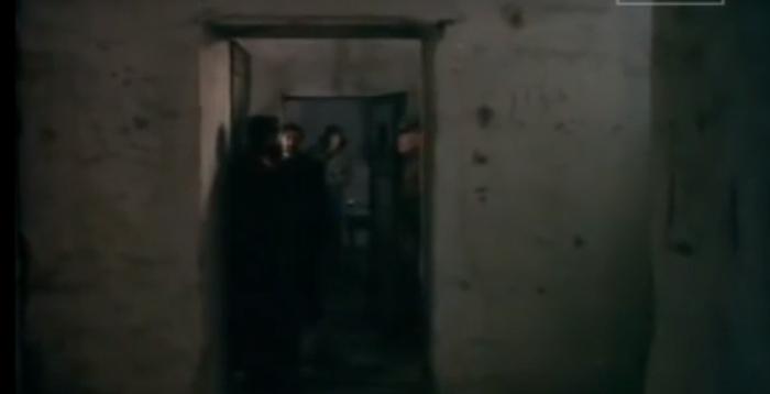 Representação de uma prisão ucraniana