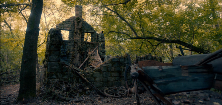 O Alienista - casa queimada