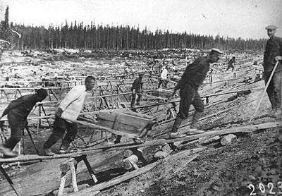 Imagem de um gulag