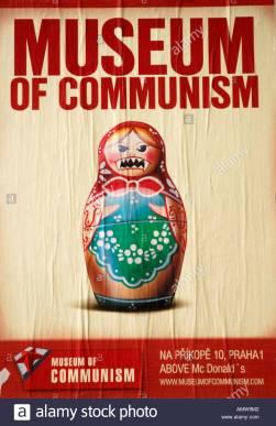museum-of-communism-poster-prague-czech-republic-AMW9M2