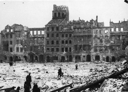 Cidade velha Varsóvia