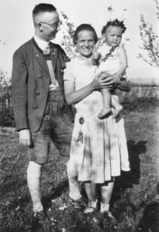 Himmler com sua mulher