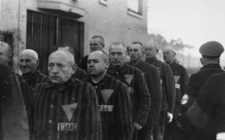 Prisioneiros durante o regime nazista