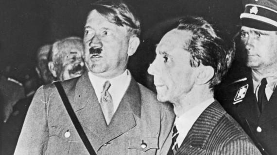 Hitler com Goebbels